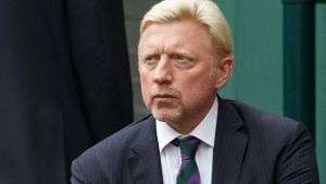 Boris Becker 2016 in Wimbledon.
