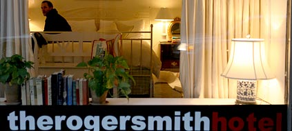 Das Roger Smith Hotel in New York (Foto: AP)