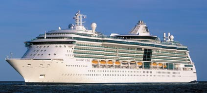 "Kreuzfahrtschiff ""Brilliance  of the Seas"" (Foto: Royal Caribbean Cruise/srt)"
