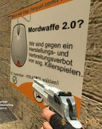 Counter Strike Piratenpartei Killerspiel Ego-Shooter Valve