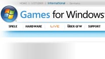Games for Windlows Live (Bild: Microsoft)