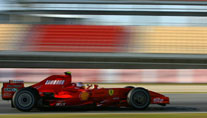 Ferrari-Tests in Barcelona (Foto: xpb)