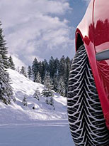 Technisches Problem: Winterreifen (Foto: dpa/gms/Goodyear)
