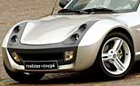 Getunter Smart Roadster in Essen 2002. (Foto: dpa)