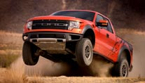 Monster-Pick-Up: Ford F-150 SVT Raptor (Foto: Ford)