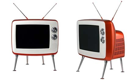 lg pr sentiert retro fernseher f r tv nostalgiker. Black Bedroom Furniture Sets. Home Design Ideas
