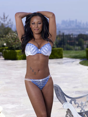 spice girl mel b als model f r die dessous marke ultimo 1. Black Bedroom Furniture Sets. Home Design Ideas