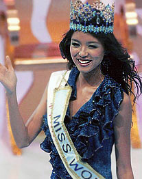 "Eine Chinesin ist ""Miss World 2007"". (Foto: Reuters)"