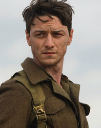 "James McAvoy in ""Abbitte"" (Foto: Allstar)"