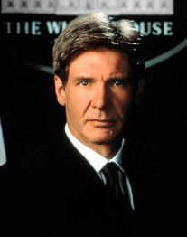 "Harrison Ford in ""Air Force One"" (Foto: Allstar)"
