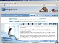 HelpDrivers ist ein Download-Portal für Treiber aller Art. (Quelle: Screenshot: t-online.de)