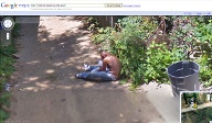 Google Street View zeigt: Betrunkener in Baltimore, USA. (Foto: Google) (Quelle: Google)