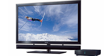 flachbild fernseher multimedia 3d tv cell zx900 von toshiba. Black Bedroom Furniture Sets. Home Design Ideas
