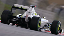 Legal: Doppeldiffusor am Heck des Brawn GP (Foto: xpb.cc)