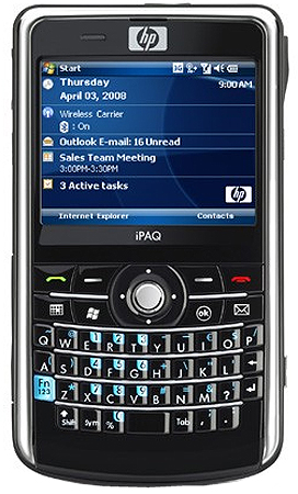 HP iPAQ 914 Business Navigator Ansicht 1
