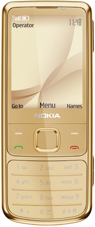 Nokia 6700 classic Gold Edition Ansicht 1
