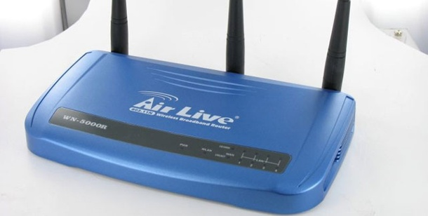 Ovislink Airlive WN-5000R - Test WLAN-Router. Im Test: Der WLAN-Router AirLive WN-5000R von OvisLink (Foto: pcwelt)
