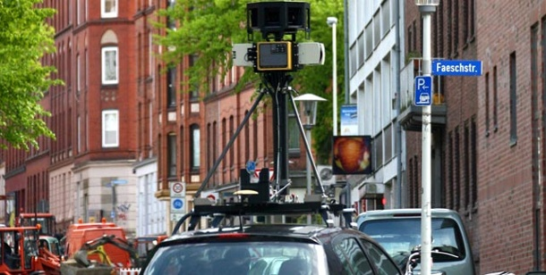Street View: EU-Warnung an Google. Street View: EU warnt Google