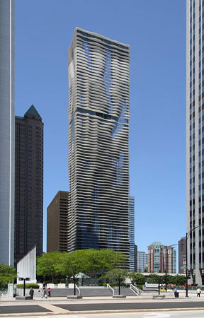 "Chicago: ""Aqua Tower"" (Foto: Emporis Michiel van Dijk)"