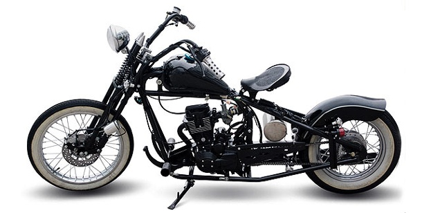 motorr der bobber 1 ist die retro harley des kleinen mannes. Black Bedroom Furniture Sets. Home Design Ideas
