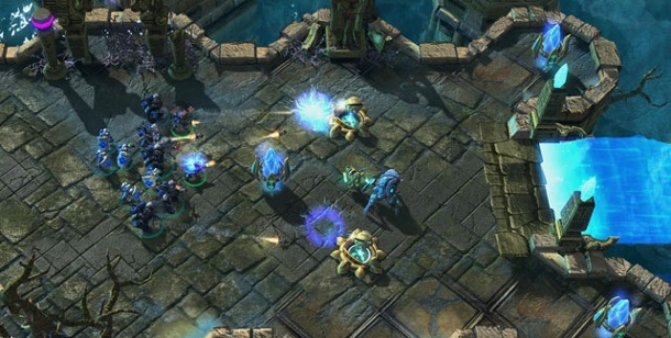 Battle.net-Update erlaubt globale Multiplayer-Partien. Starcraft 2 (Bild: Blizzard)
