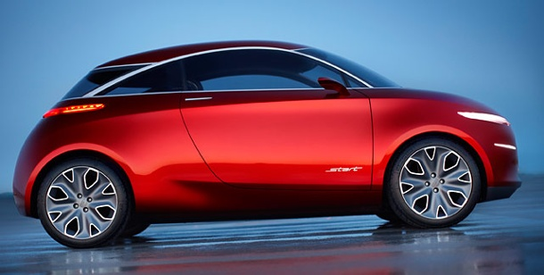 Concept Cars: Ford zeigt in China Kleinwagen Start Concept. Ford Start Concept (Foto: Ford)