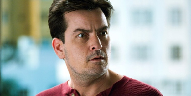 "Charlie Sheen bleibt bei ""Two and a Half Men"" . Hollywood-Star Charlie Sheen (Foto: Allstar)"