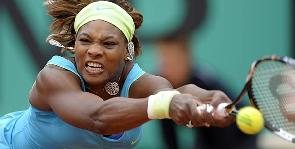French Open: Serena Williams im Achtelfinale - Roddick draußen. Serena Williams besiegt in Paris Anastasia Pawljutschenkowa. (Foto: Reuters)