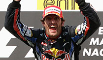 Sieg in Ungarn, Platz eins in der WM-Wertung: Mark Webber (Foto: Reuters) (Quelle: Reuters)