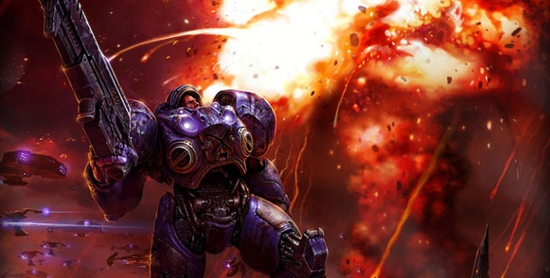 E-Sports: Deutsche Post wird Partner der ESL. Starcraft 2 (Bild: Blizzard) (Quelle: Blizzard)