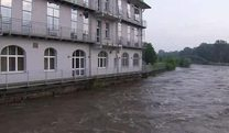 Hochwasser in Brandenburg (Screenshot: Reuters)