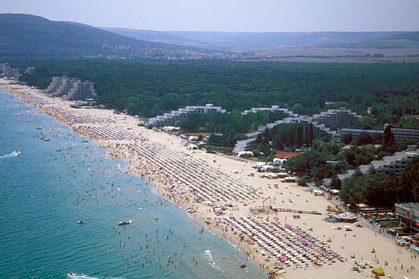 strand von albena in bulgarien foto imago 1. Black Bedroom Furniture Sets. Home Design Ideas
