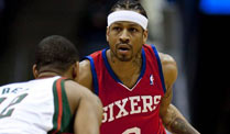 NBA-Star Iverson vor Wechsel nach China. Allen Iverson will seine Karriere in China fortsetzen. (Foto: imago)