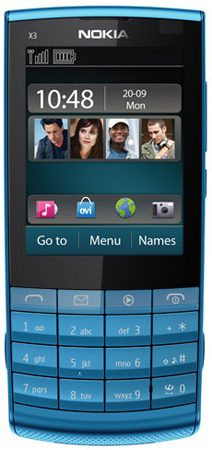 Nokia X3-02 Touch and Type Ansicht 1