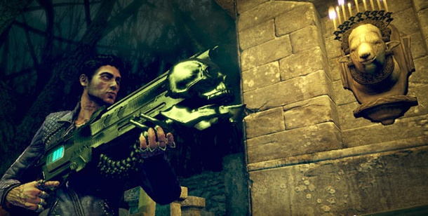 """Shadows of the Damned"": Neues Horror-Actionspiel für PS3 und Xbox 360. Shadows of the Damned (Bild: EA)"