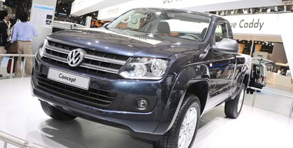 vw amarok pick up jetzt auch mit single kabine. Black Bedroom Furniture Sets. Home Design Ideas