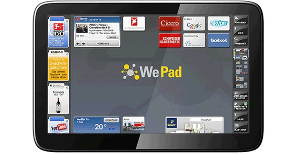 WeTab : Tablet-PC im Test. iPad-Konkurrent im Test: WeTab (Foto: t-online)