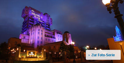 """Tower of Terror"" - beste Attraktion Europas 2010. Der ""Tower of Terror"" im Disneyland Paris. (Foto: Disneyland Paris)"