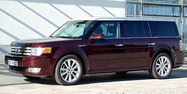 ford flex riesen van mit 360 ps. Black Bedroom Furniture Sets. Home Design Ideas