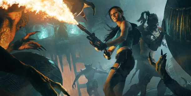 """Lara Croft and the Guardian of Light"" als iPhone-Abenteuer. Lara Croft and the Guardian of Light (Bild: Square Enix)"
