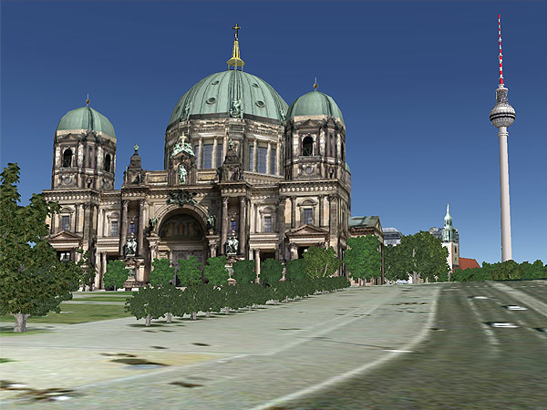 Berliner Dom (Screenshot: t-online)