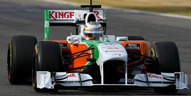Formel 1: Teamporträt Force India. Nico Hülkenberg im Force India (Foto: xpb.cc)