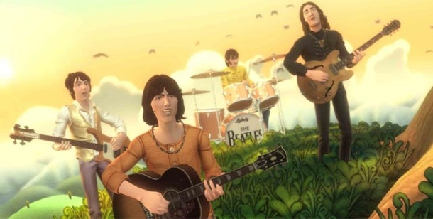 Viacom macht MTV Games dicht. The Beatles: Rock Band (Bild: Harmonix / MTV Games)