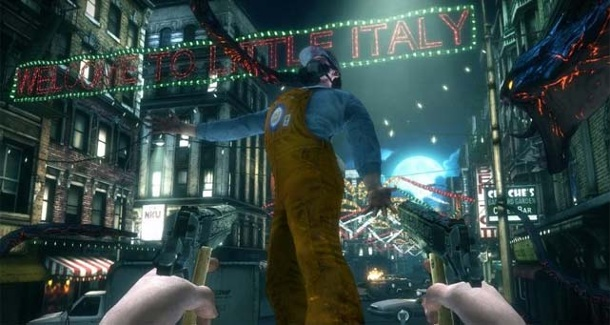 Ego-Shooter The Darkness 2: Demo noch im Januar. The Darkness 2 (Bild: 2k Games)