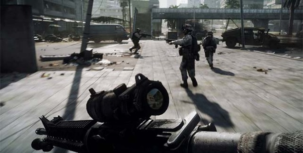 "Ego-Shooter ""Battlefield 3"": Multiplayer-Part limitiert. Battlefield 3 (Bild: EA)"