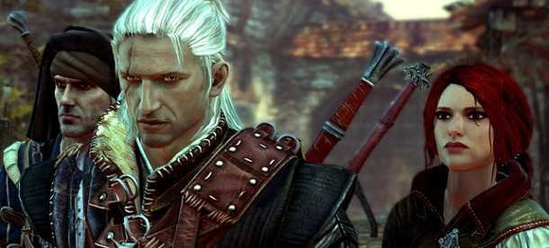 The Witcher mehr als vier Millionen Mal verkauft. The Witcher 2 (Quelle: Namco Bandai)