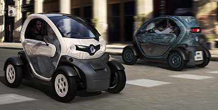 renault twizy elektroauto ab 7000 euro. Black Bedroom Furniture Sets. Home Design Ideas