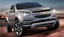 Chevrolet Colorado: neuer Pick-up kommt 2012. Chevrolet Colorado (Foto: Chevrolet)