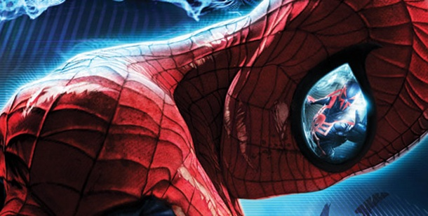 """Spider-Man: Edge of Time"": Neues Game mit dem Superhelden. Spider-Man: Edge of Time (Bild: Activision)"