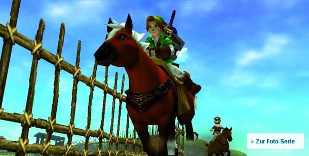 HD-Remakes von Spiele-Klassikern: Fluch oder Segen?. The Legend of Zelda: Ocarina of Time (Quelle: Nintendo)